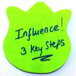 Influence others - 3 key steps
